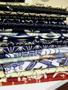Japanese Cottons stack